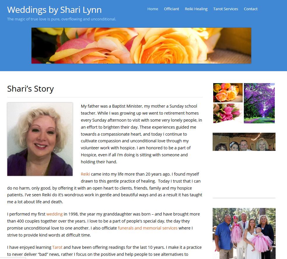 Weddings by Shari